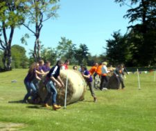 Round Bale Rolling